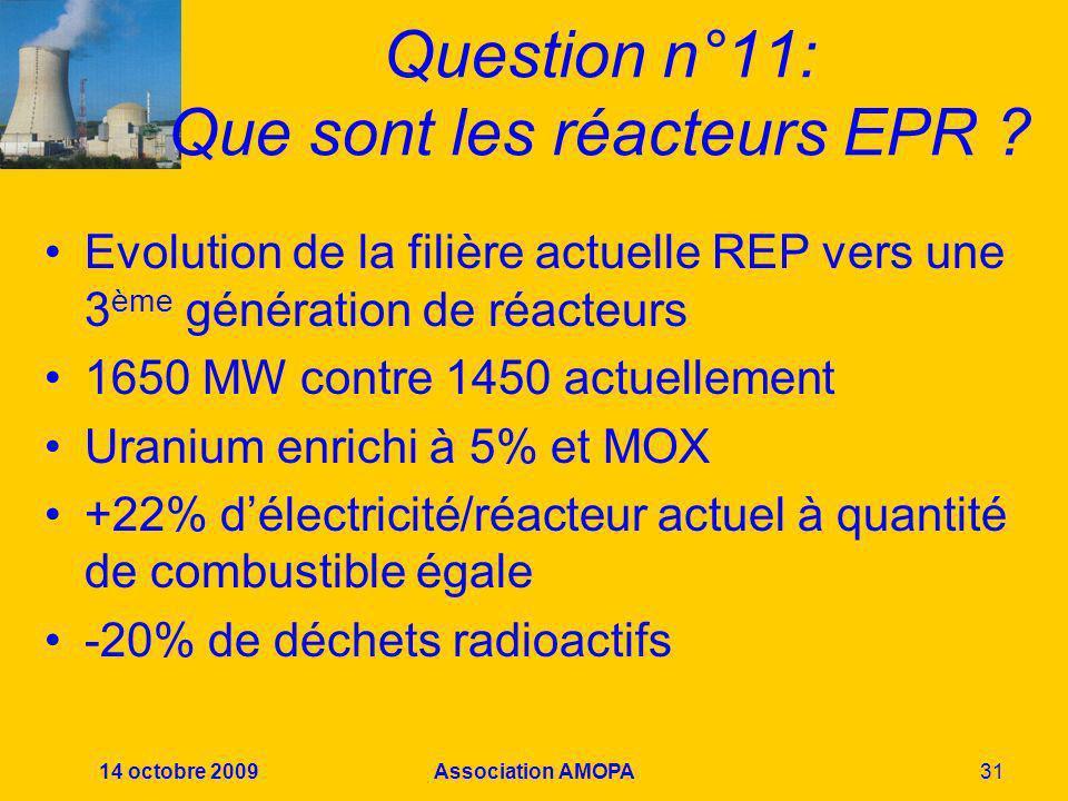 Question n°11: Que sont les réacteurs EPR