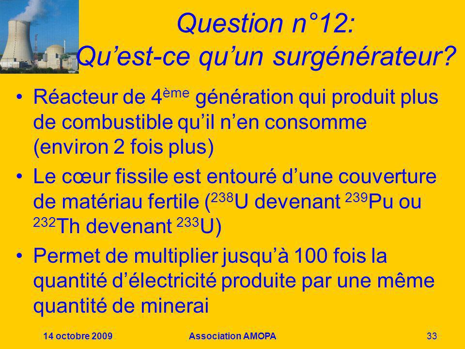Question n°12: Qu'est-ce qu'un surgénérateur