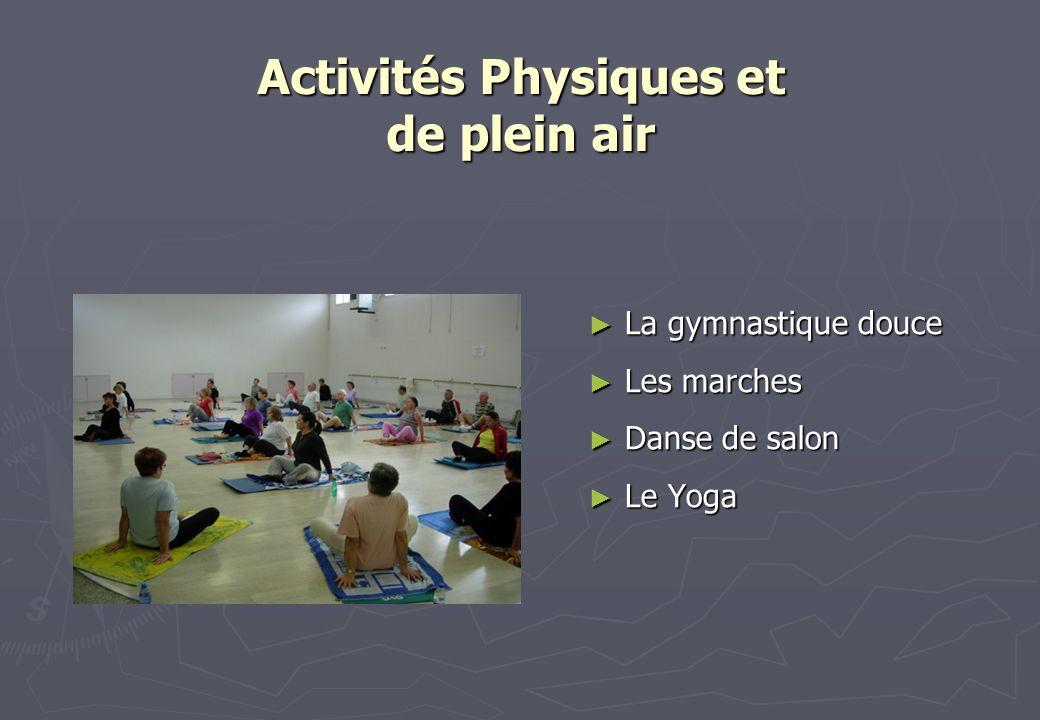 Activités Physiques et de plein air