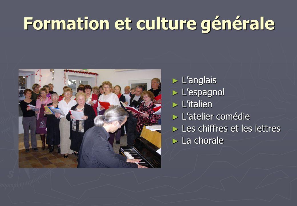 Formation et culture générale