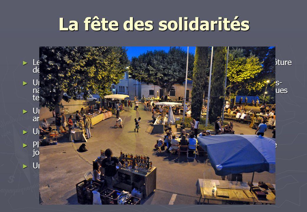 La fête des solidarités