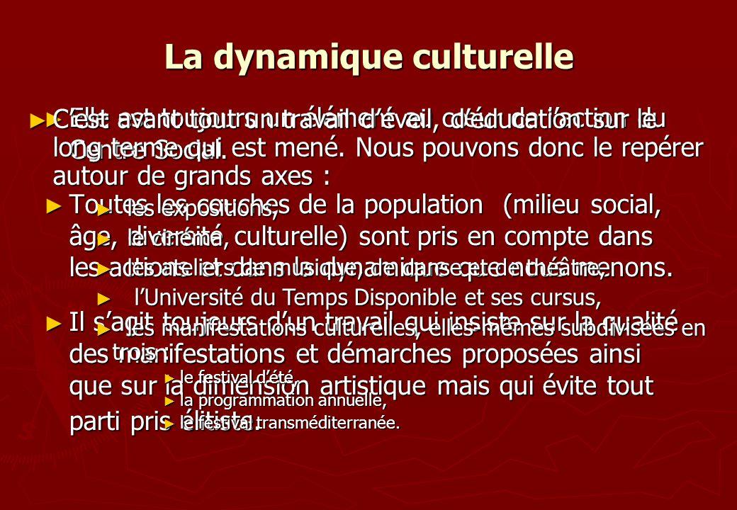 La dynamique culturelle