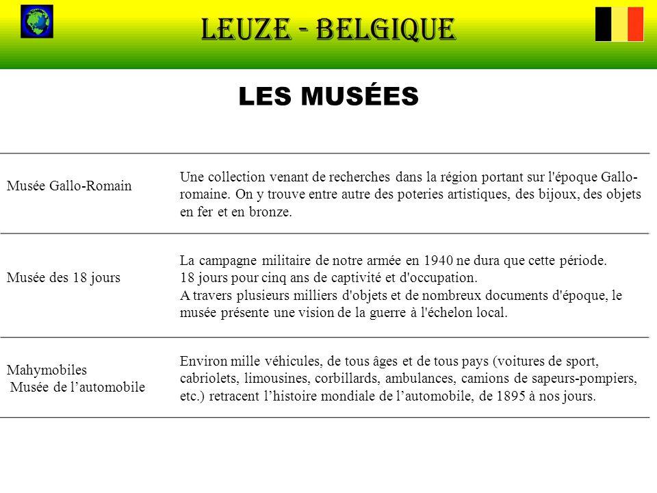 LES MUSÉES Musée Gallo-Romain.