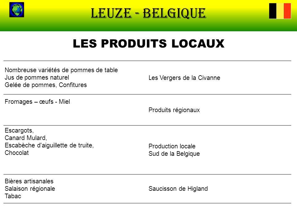 LES PRODUITS LOCAUX Les Vergers de la Civanne