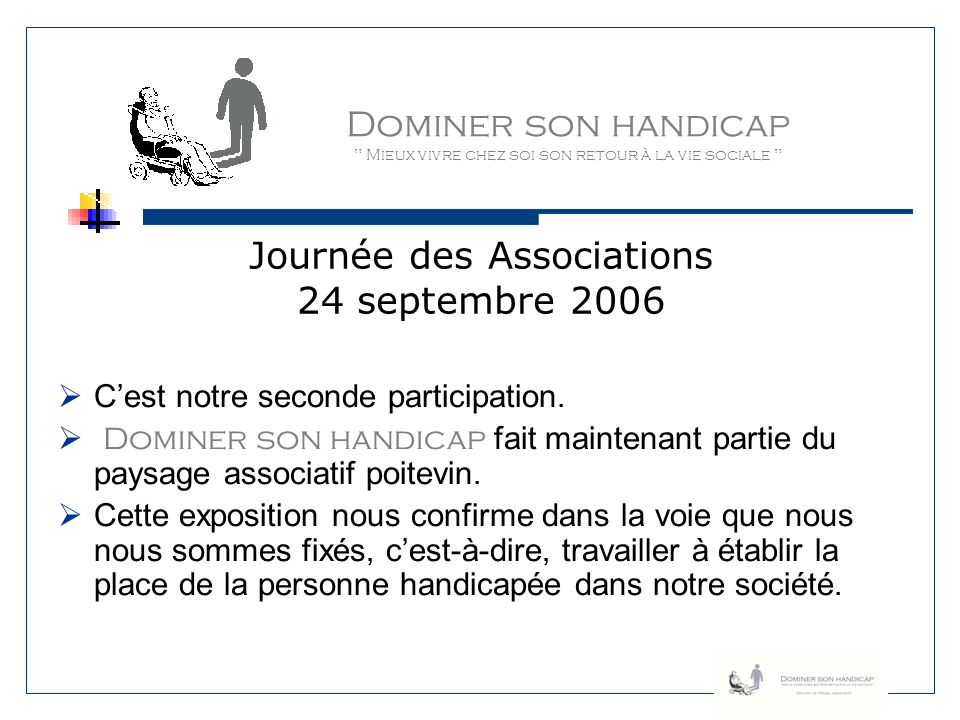 Journée des Associations 24 septembre 2006