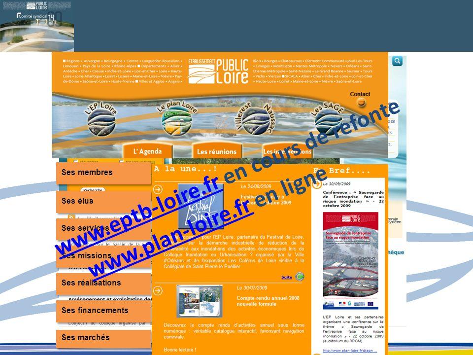 www.eptb-loire.fr en cours de refonte