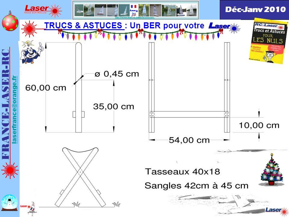 FRANCE-LASER-RC TRUCS & ASTUCES : Un BER pour votre Déc-Janv 2010
