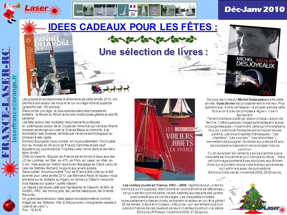 FRANCE-LASER-RC IDEES CADEAUX POUR LES FÊTES :