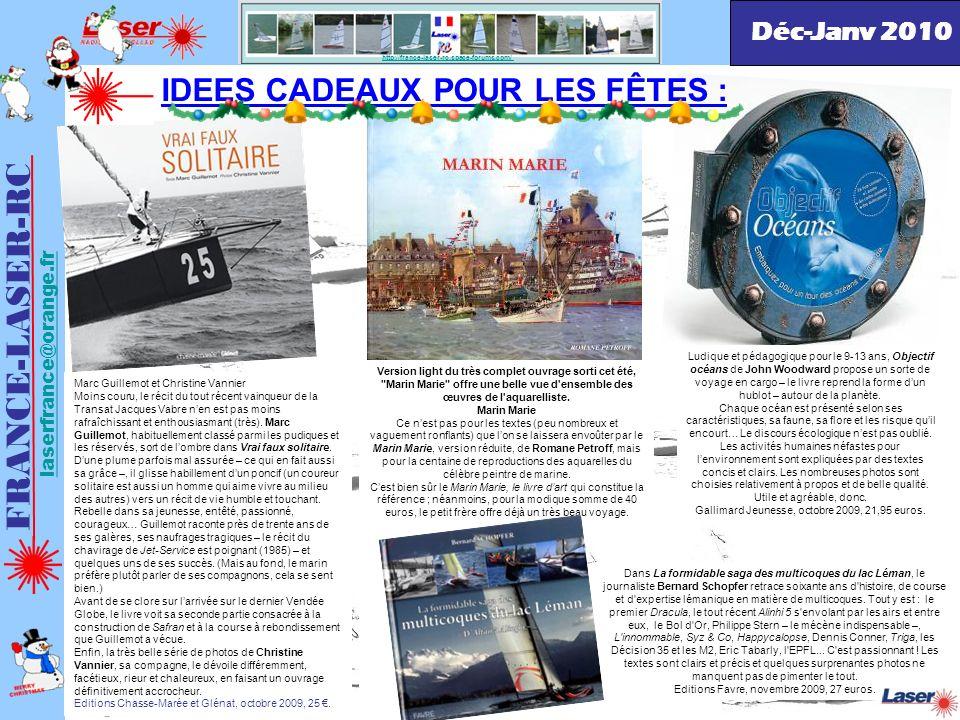FRANCE-LASER-RC IDEES CADEAUX POUR LES FÊTES : Déc-Janv 2010