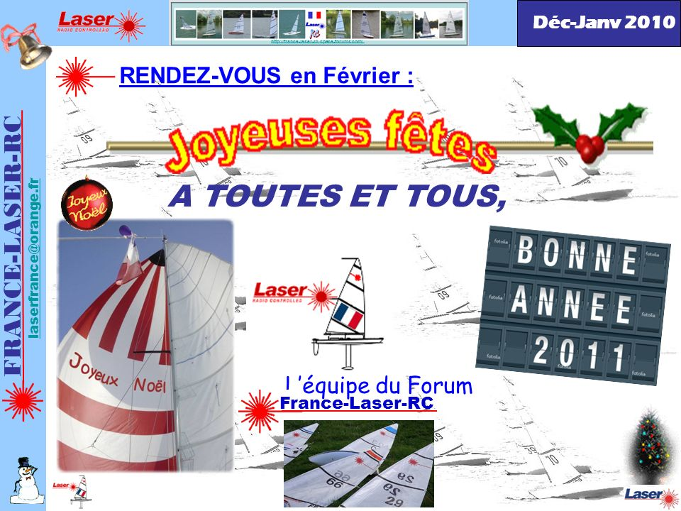 A TOUTES ET TOUS, FRANCE-LASER-RC RENDEZ-VOUS en Février :