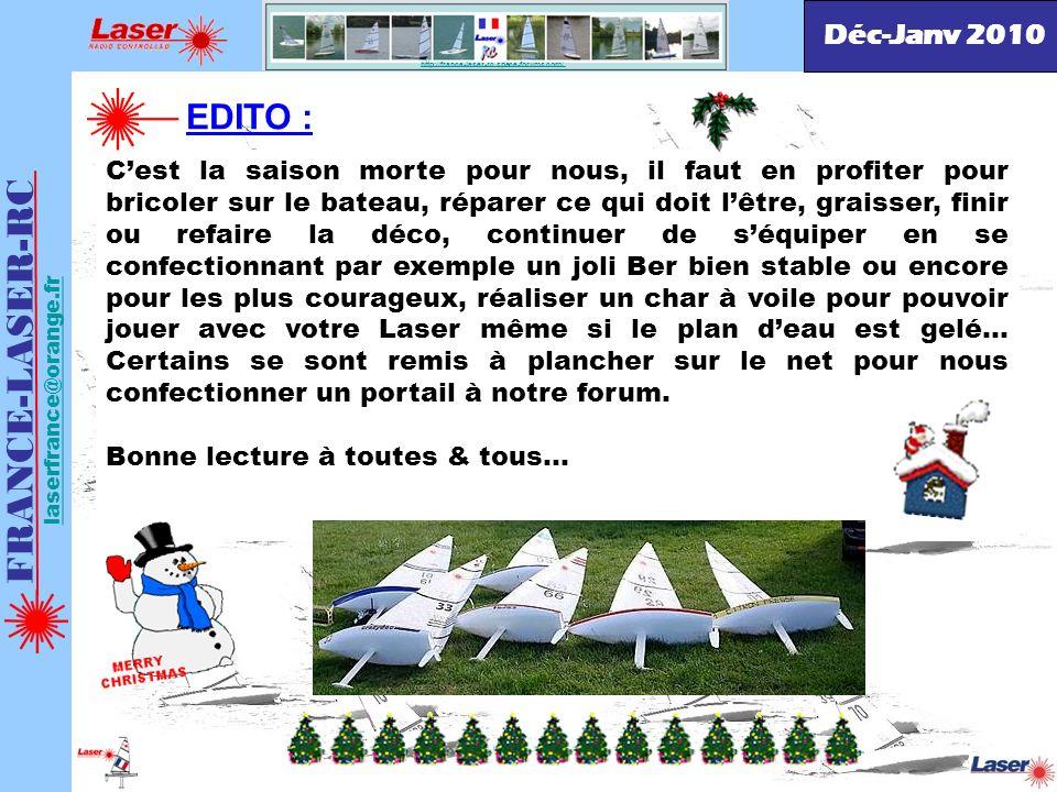 FRANCE-LASER-RC EDITO : Déc-Janv 2010