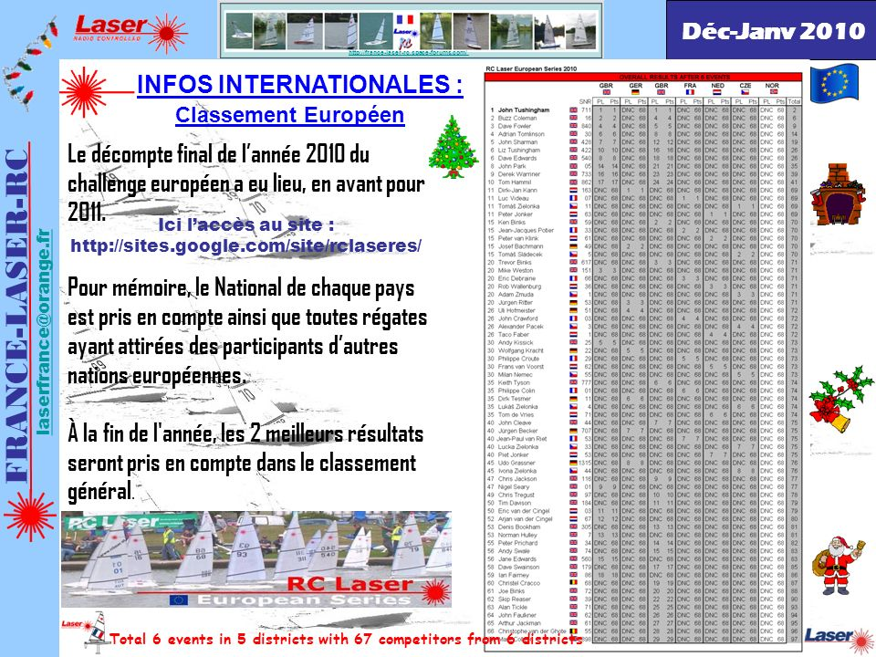 INFOS INTERNATIONALES :