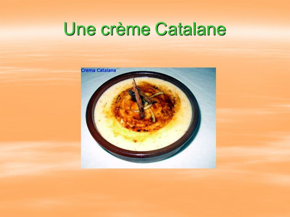 Une crème Catalane