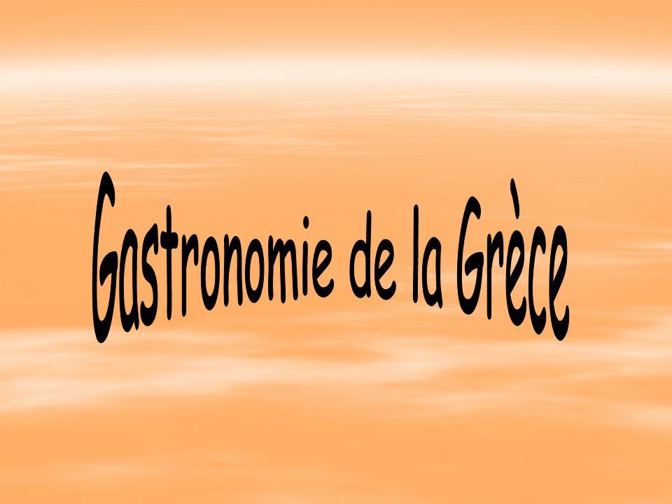 Gastronomie de la Grèce