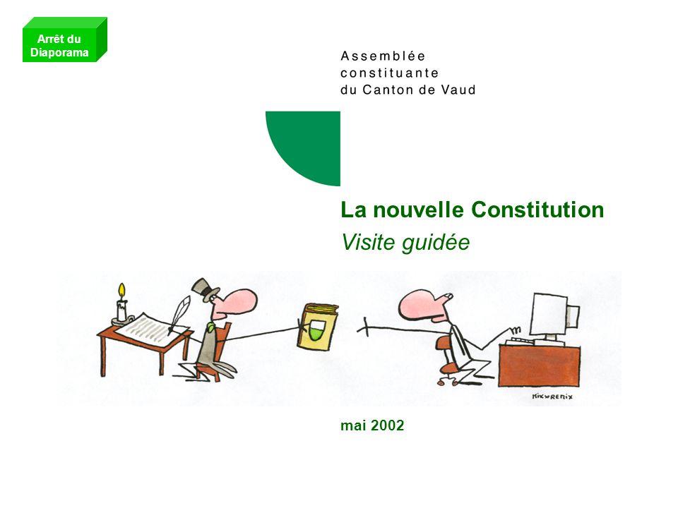 La nouvelle Constitution Visite guidée mai 2002
