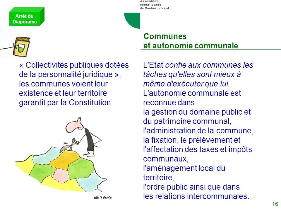 Communes et autonomie communale