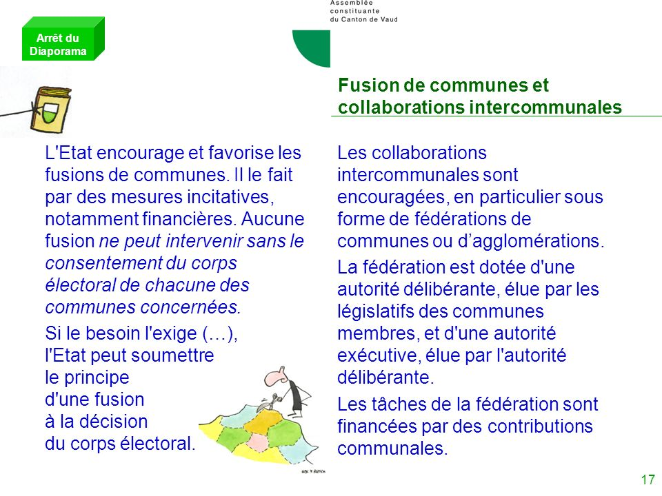 Fusion de communes et collaborations intercommunales