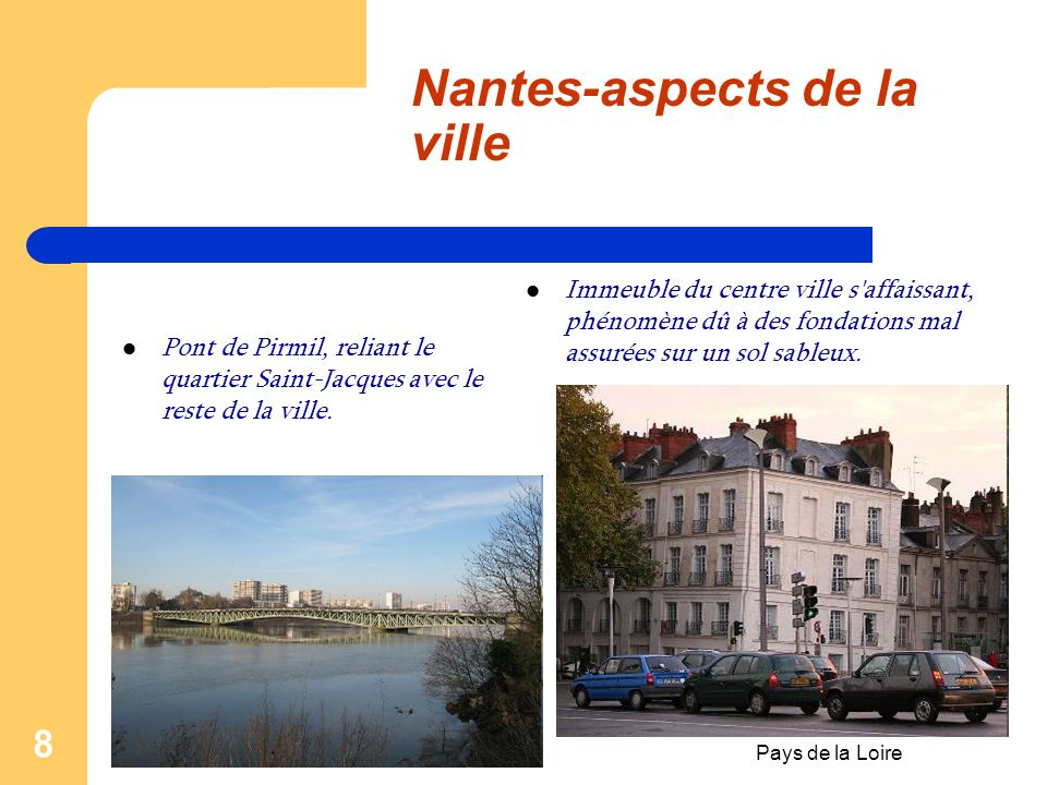 Nantes-aspects de la ville