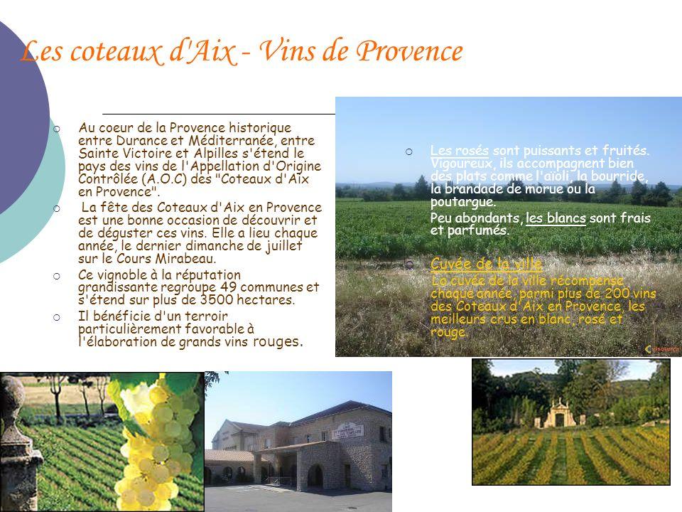 Les coteaux d Aix - Vins de Provence