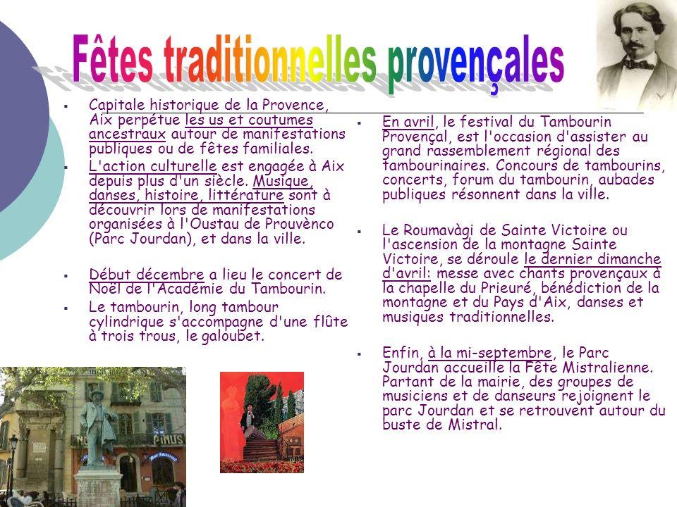 Fêtes traditionnelles provençales