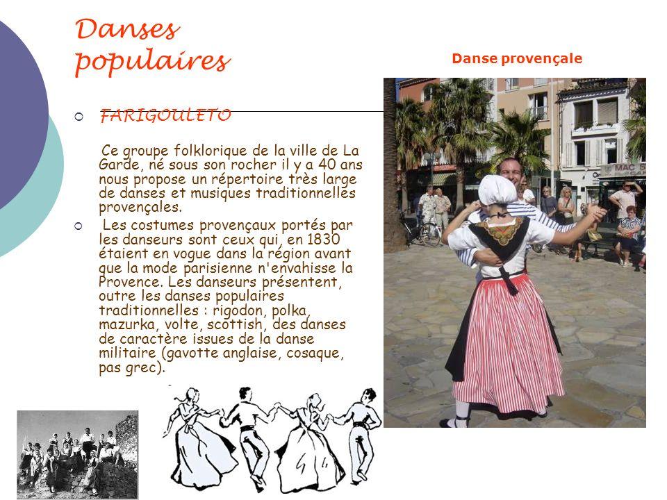 Danses populaires FARIGOULETO