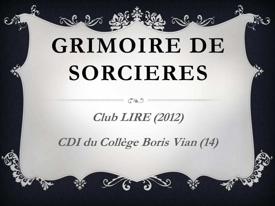 Club LIRE (2012) CDI du Collège Boris Vian (14)