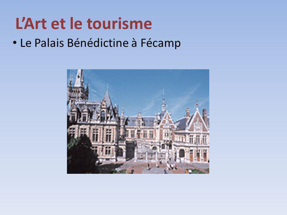 Le Palais Bénédictine à Fécamp