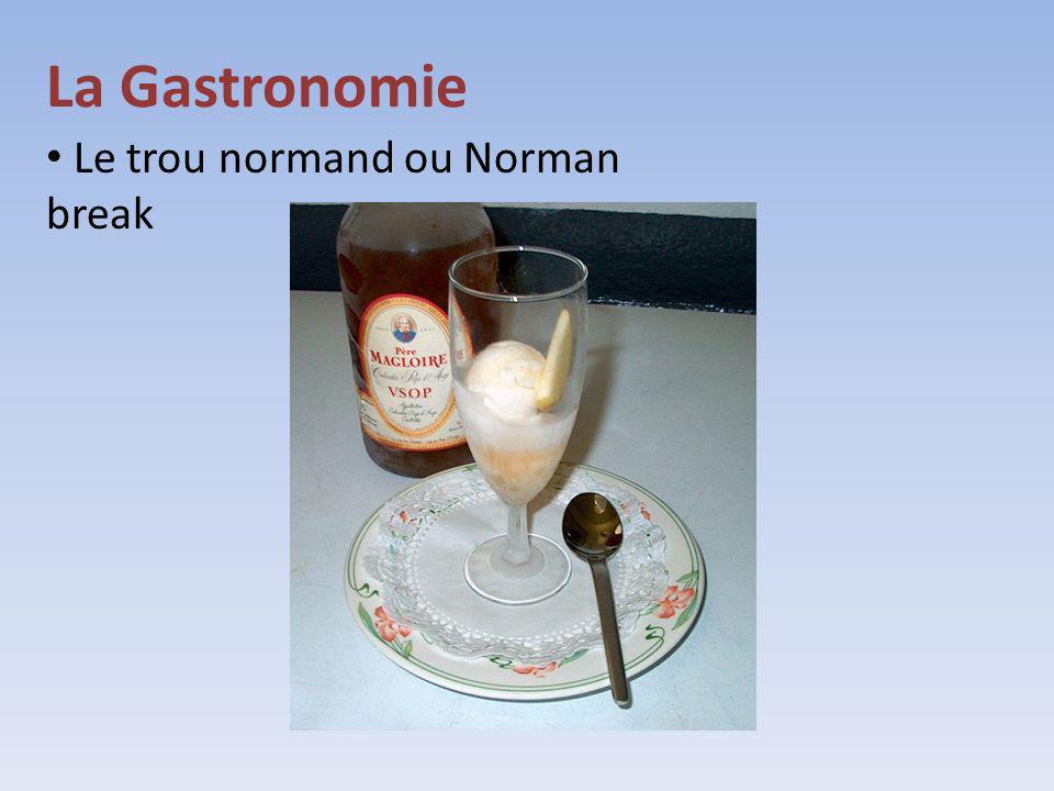 Le trou normand ou Norman break
