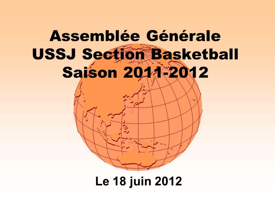 Assemblée Générale USSJ Section Basketball Saison 2011-2012
