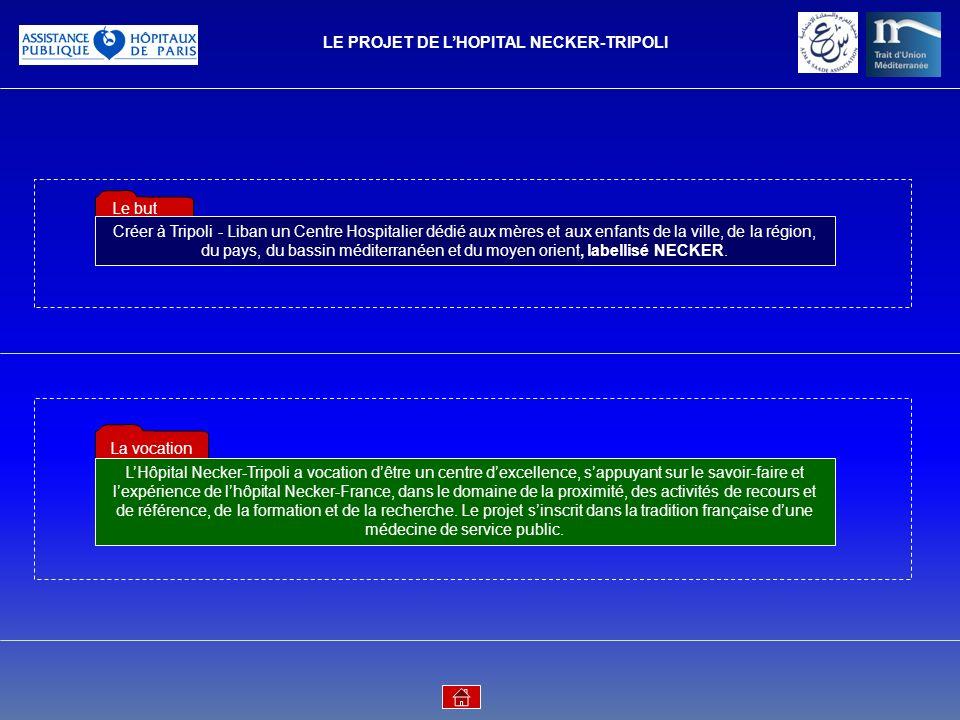 LE PROJET DE L'HOPITAL NECKER-TRIPOLI