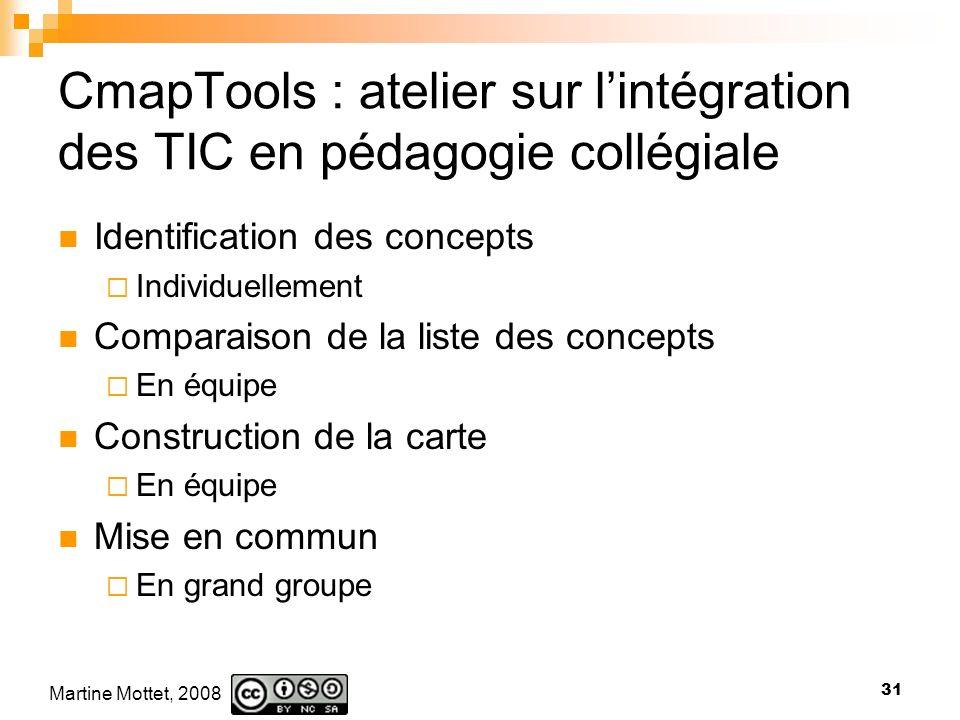 CmapTools : atelier sur l'intégration des TIC en pédagogie collégiale