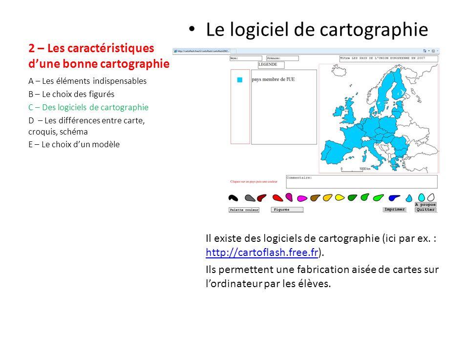 2 – Les caractéristiques d'une bonne cartographie