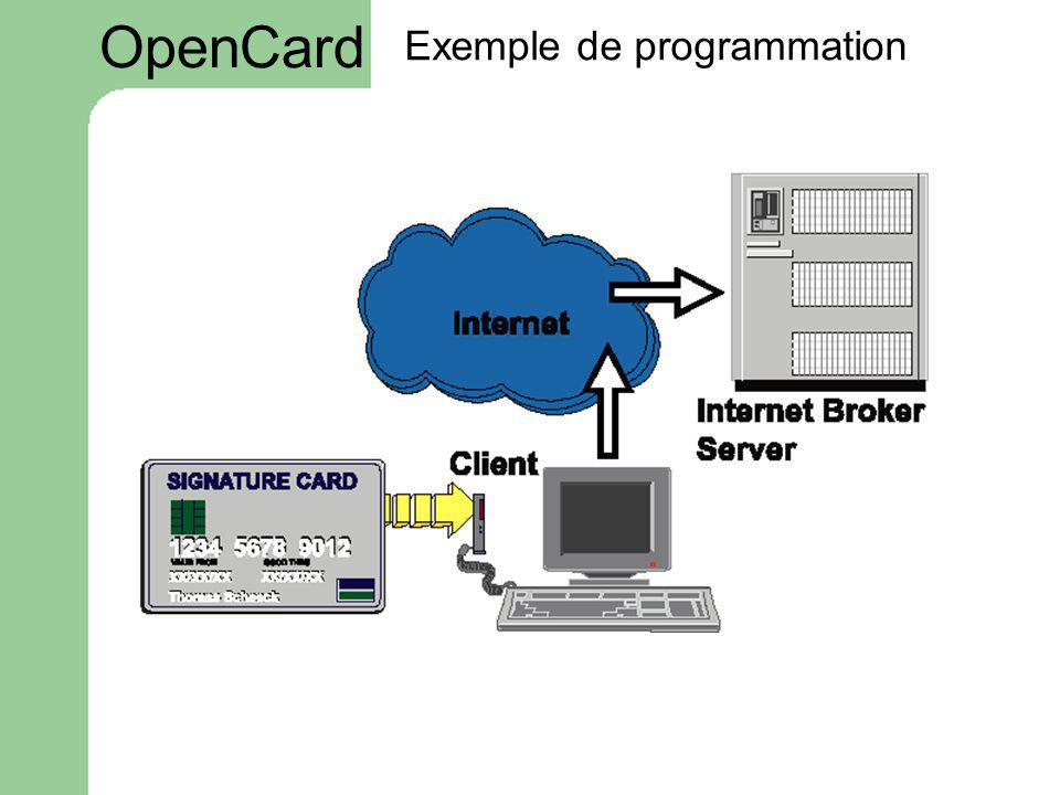 Exemple de programmation