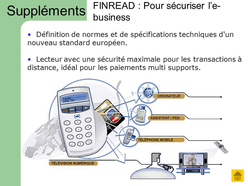 FINREAD : Pour sécuriser l'e-business