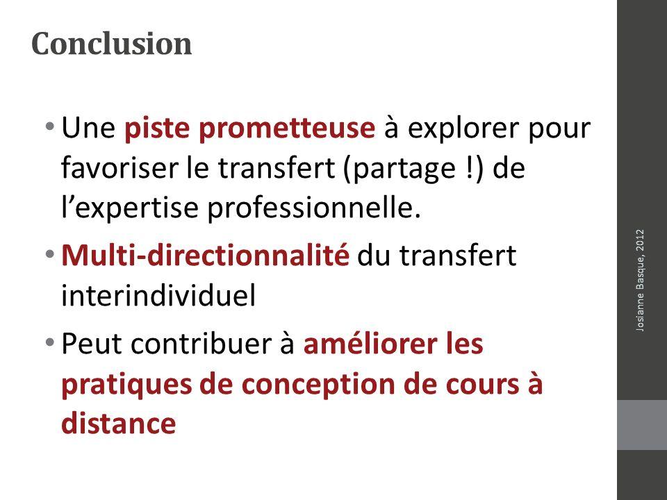 Multi-directionnalité du transfert interindividuel