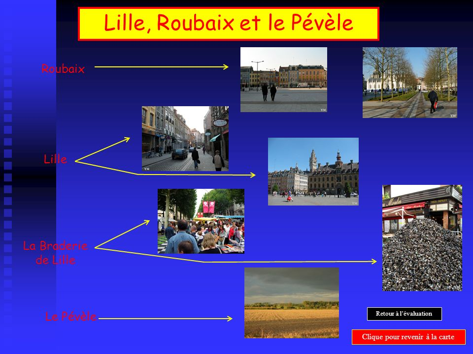 Lille, Roubaix et le Pévèle
