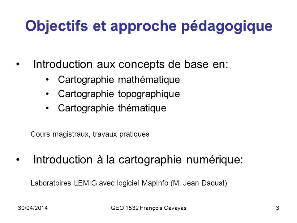 Objectifs et approche pédagogique