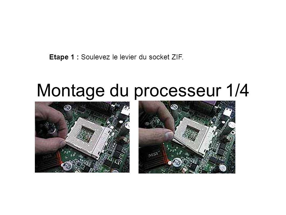 Montage du processeur 1/4