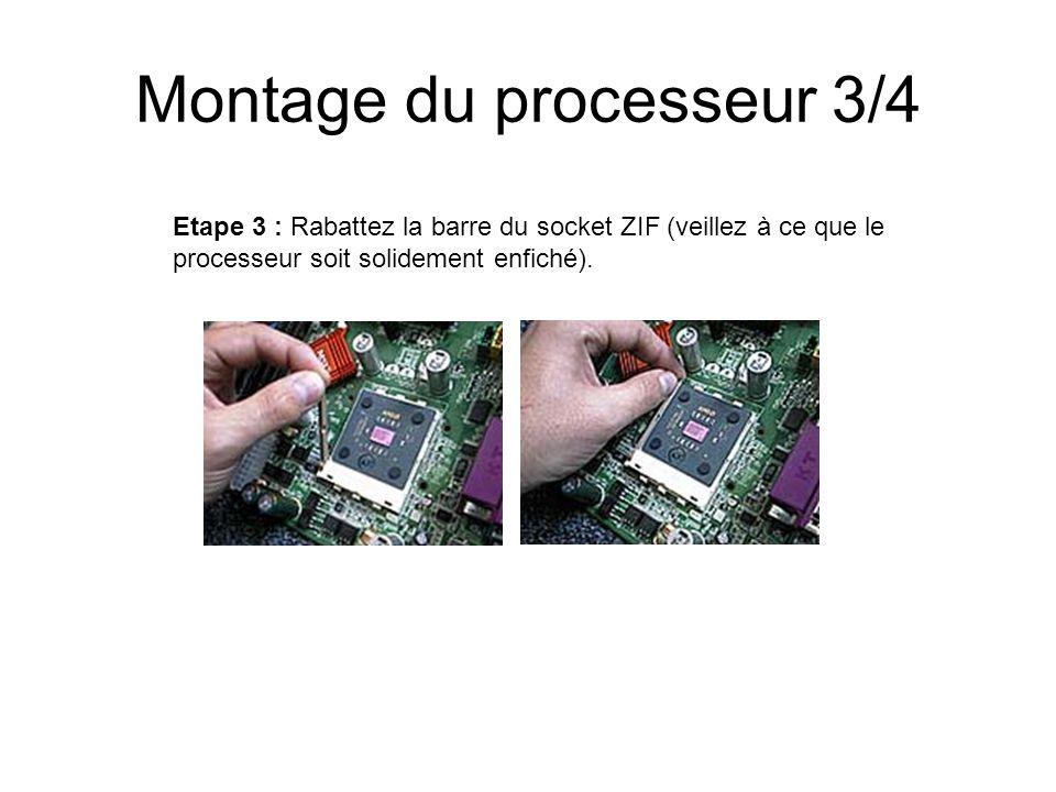Montage du processeur 3/4