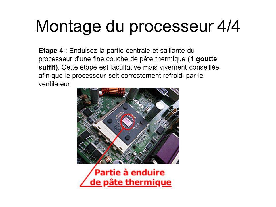 Montage du processeur 4/4