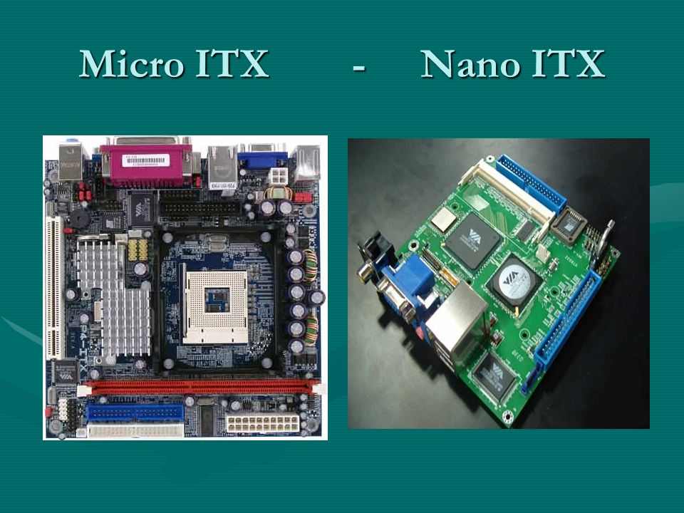 Micro ITX - Nano ITX