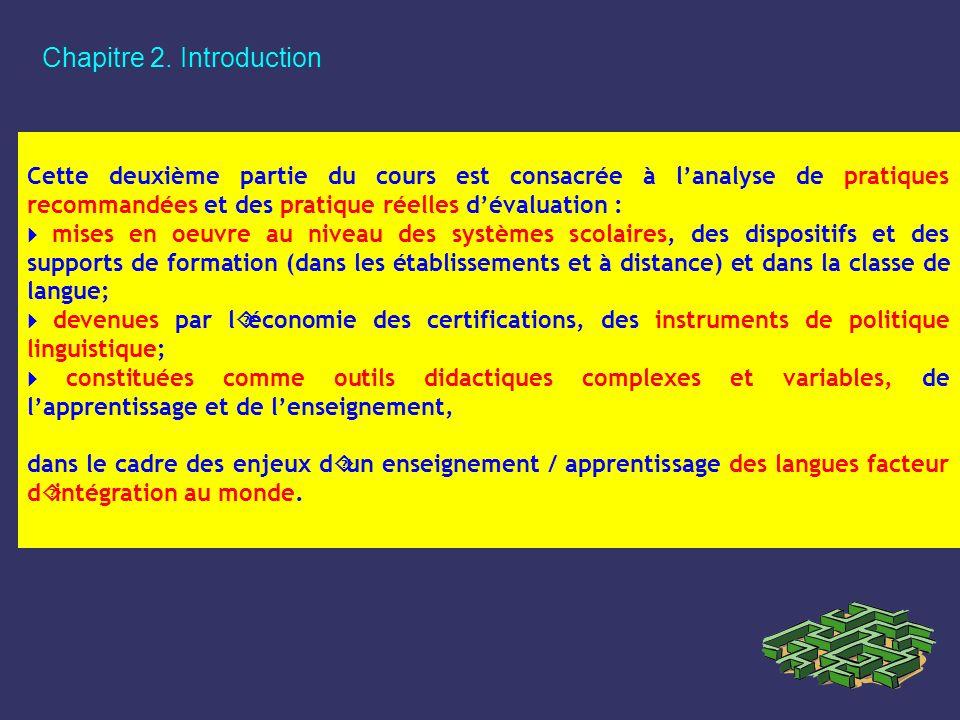 Chapitre 2. Introduction