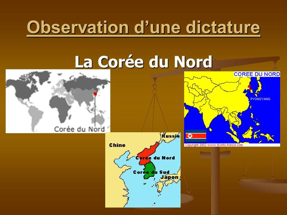 Observation d'une dictature