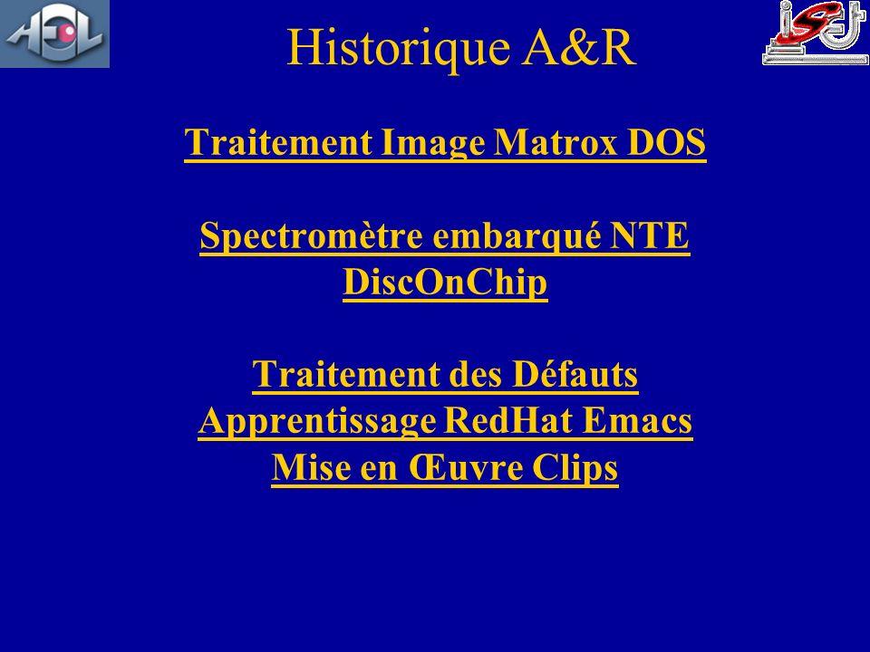 Historique A&R