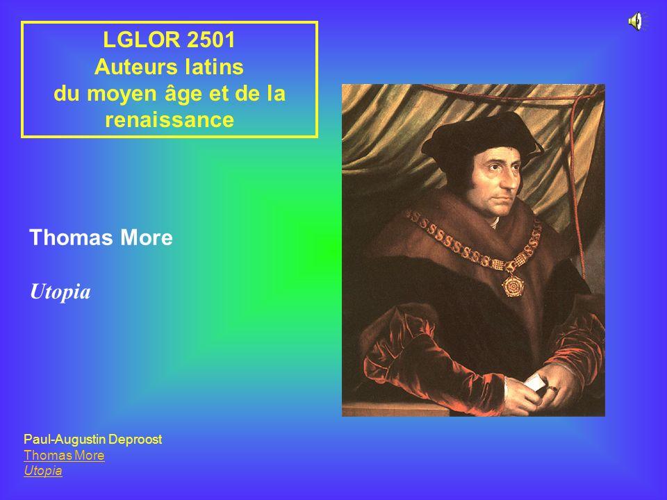 du moyen âge et de la renaissance