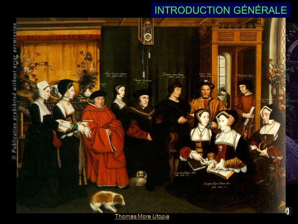 Thomas More Utopia INTRODUCTION GÉNÉRALE C. Thomas More