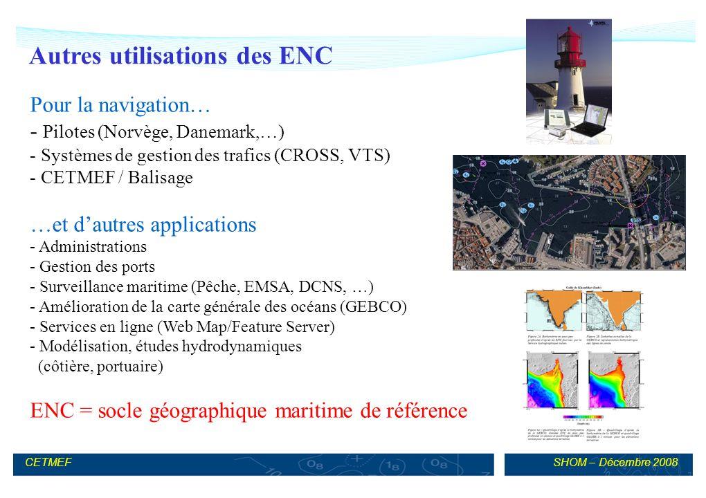 Autres utilisations des ENC