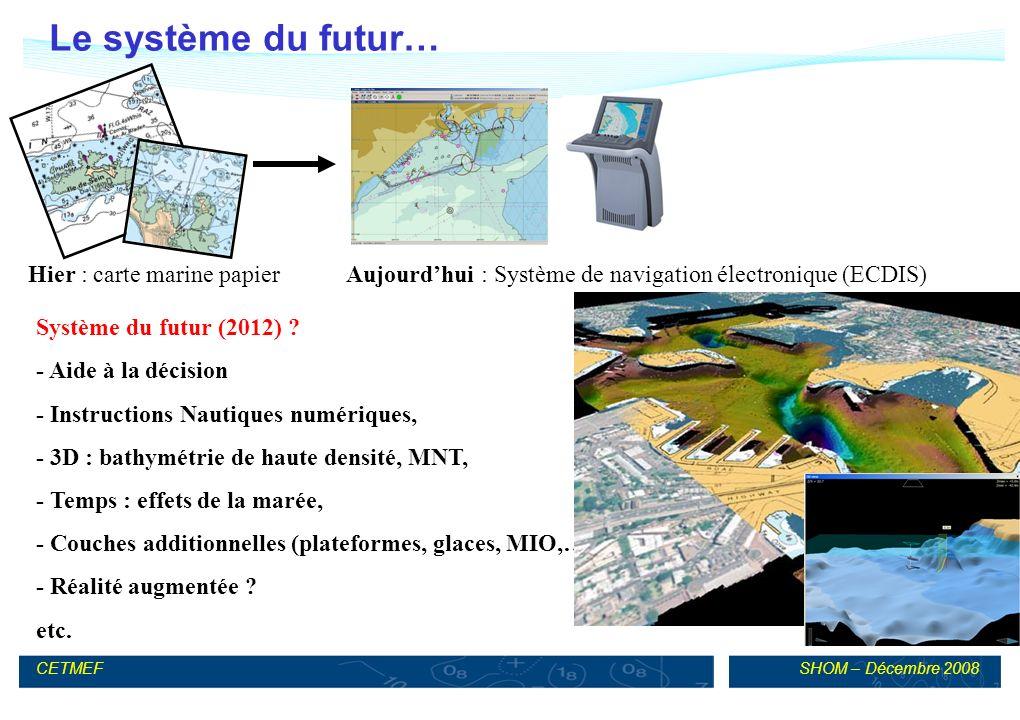 Le système du futur… Hier : carte marine papier