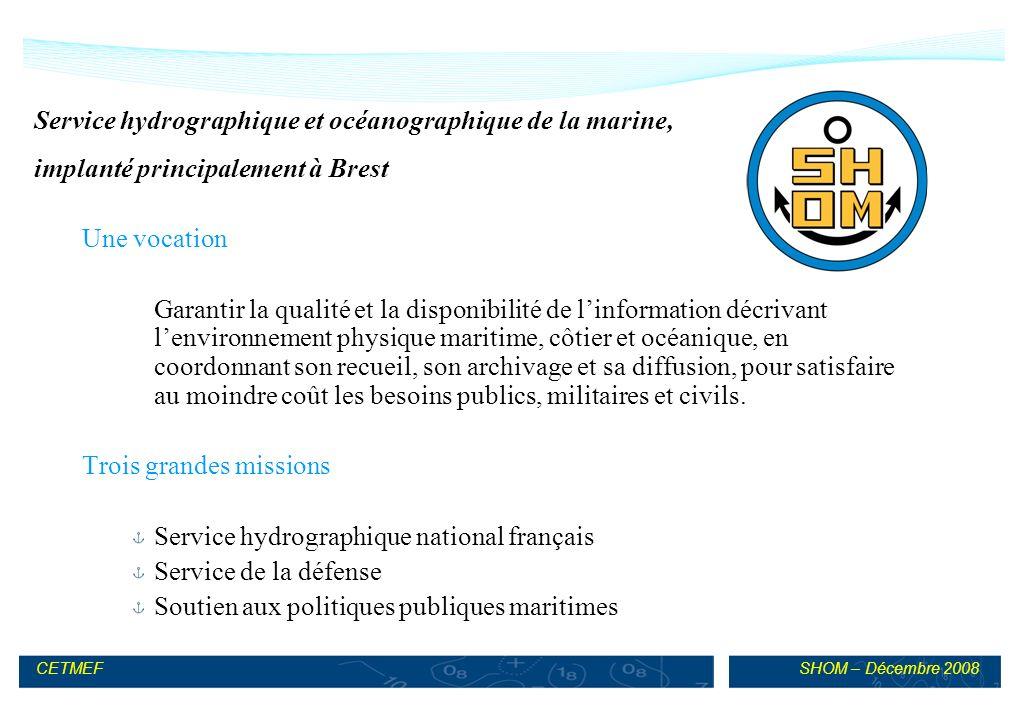 Service hydrographique et océanographique de la marine,
