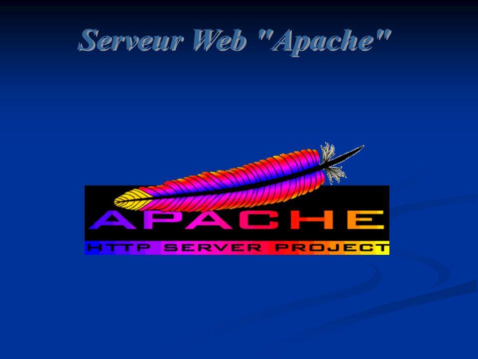 Serveur Web Apache